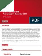 2014 FY Presentation FINAL