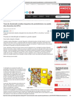 Tese de doutorado analisa impactos do produtivismo na saúde dos docentes da UFRJ