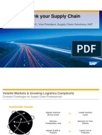 SAP KeynoteTime to Rethink Your Supply Chain