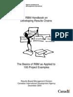 Result-based Program Management
