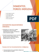 Movimientos Emancipatorios Indígenas
