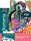 Diptico de la Romeria Virgen de la Cabeza 2015