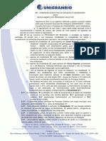 Regulamento Processo Seletivo 2015 1