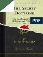 The Secret Doctrine v1 1000076421