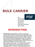 Bulk carrier Design project