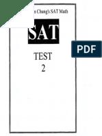SAT Math Practice Test 02