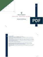Owners Manual Maserati GranTurismo '09 DE