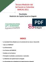 Medición Capital Social Bogota 2011