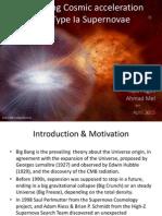 Measuring Cosmic Acceleration