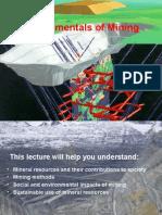 Fundamentals of Mining