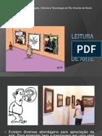 Leitura Da Obra de Arte