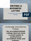Writing a Business Letter.ppt