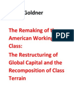 The Remaking of the American Working Class