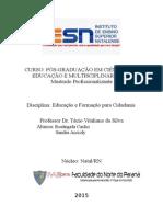 Ética - Cidadania Na Escola -Artigo Meu - Prof Tássio (Salvo Automaticamente)