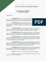 Ley 10-04 de La Camara de Cuentas