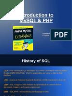 SQL Php DavidSands