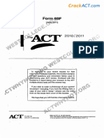 ACT 201106 Form 69F