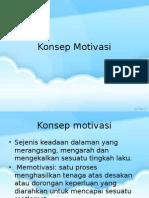 Konsep Motivasi (2)