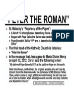 PETER THE ROMAN (PRINT VERSION)