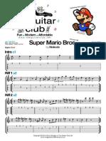 Super Mario (Melody) the Guitar Club Ltd (London UK) Theguitarclub@Hotmail.co.Uk