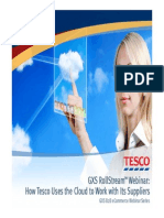 How Tesco Uses the Cloud to Work With Its Suppliers