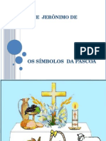 Emef Eunice Jerônimo de Oliveira Simbolos Da Páscoa