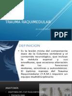 Trauma Raquimedular 2