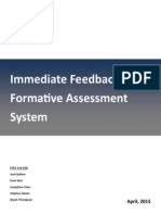 formative assessment system curriculum guide