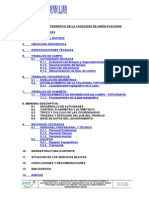 Informe Topografico Union Pucusani