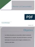 Índices de precios al consumidor - Graciela Bevacqua