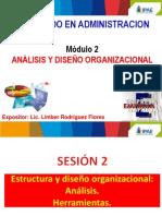 Sesión 2 Estructura y Diseño Organizacion