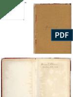 1912-1942 Mina Warren Ellison's Birthday Book