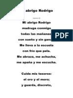 2.- Mi Abrigo Rodrigo