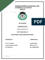 Puran Chand v. state of Himachal Pradesh-Case Anaysis.docx
