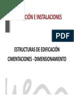 Zapatas en Edificación - Cálculo
