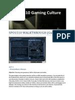 Spo1510 Walkthrough (Guide)