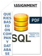 DBMS SQL COMMANDS