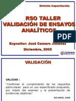 Curso de Validación CERPER . Jose Camero (2)