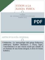Introduccion a La Antropologia Fisica