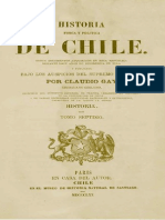 VII - Historia de Chile - Claudio Gay
