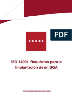 ISO 14001, requisitos para la implantacion de un SGA  100.pdf