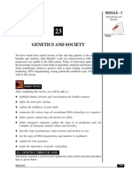 Genetics and Society