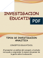 Exposicion Investigacion Educativa