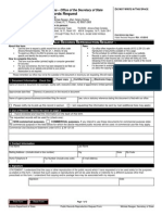 Public Request Form