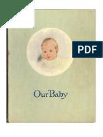 1928 Jean Ellison's Baby Book