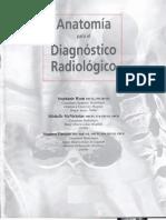 ANATOMIA Para El Diagnostico Radiologico