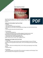 Indikasi Dan Kontraindikasi Gigi Tiruan Penuh