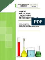 Manual Practicas de Lab. Fisicoquimica I-Lab. Fisicoquimica II UIS