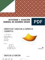 Actividad 1. Ecuación General de Segundo Grado