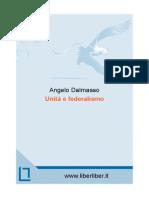 Unità e federalismo